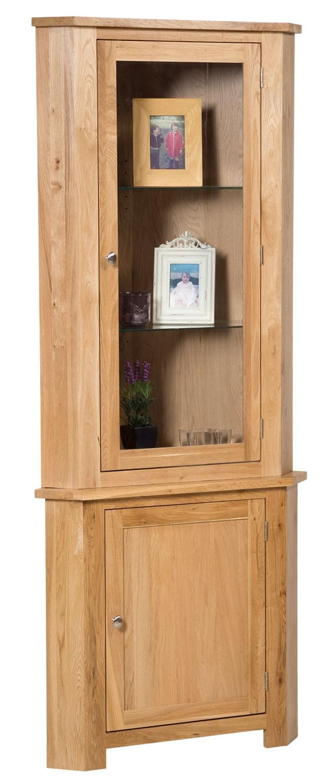 waverly corner display cabinet