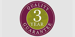 three year guarantee