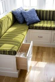 bench seating with drawer