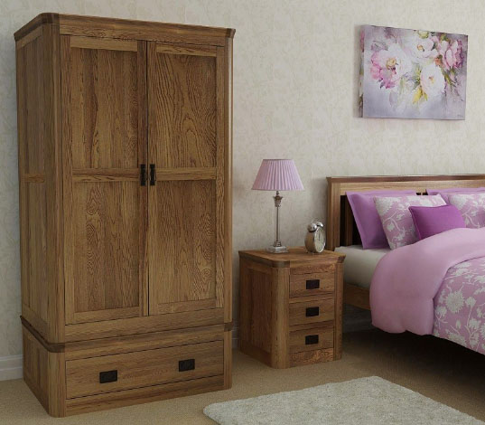 London Wardrobe with drawer