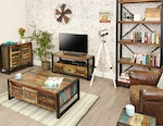 Urban Chic Reclaimed Wood