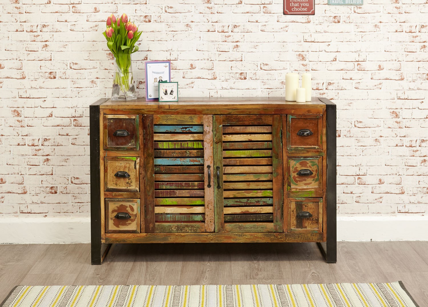 reclaimed sideboard