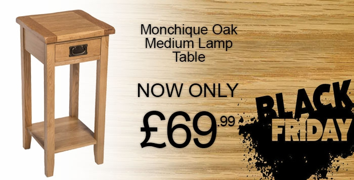 Monchique Oak Medium Lamp