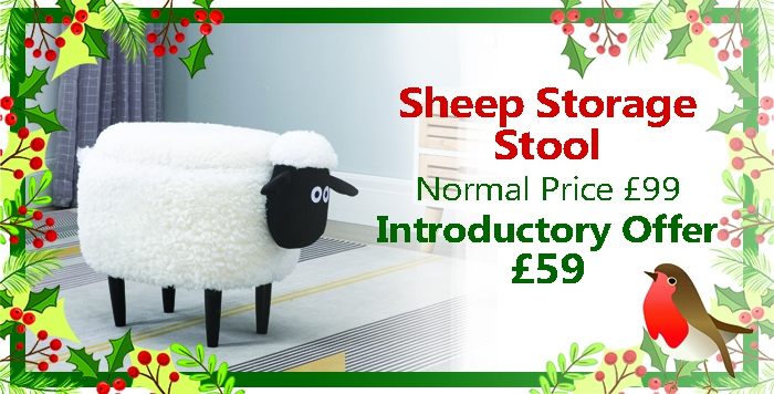 Sheep Storage Stool