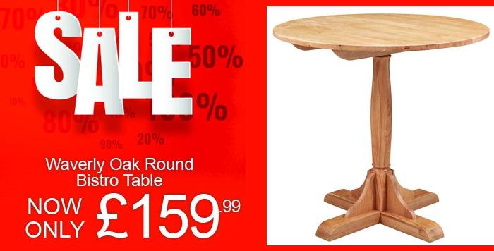 waverly oak round bistro table