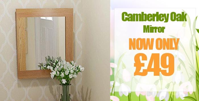 Camberley Oak Wall Mirror