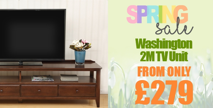 Washington Oak TV Unit