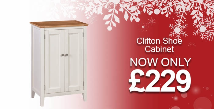 Clifton Painted Shoe Cupboard