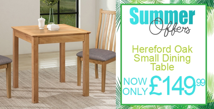 hereford oak small table