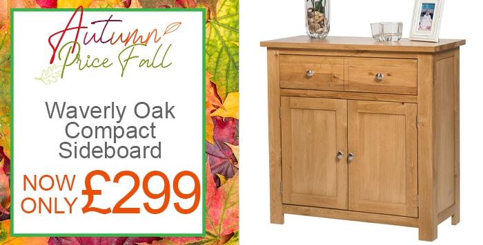 waverly oak compact sideboard