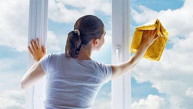 Clean the windows